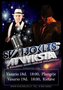 ",,Svajoklio"" koncertas @ Plungės kultūros centras | Plungė | Telšių apskritis | Lietuva"