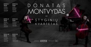 Donato Montvydo ir styginių kvarteto koncertas @ Plungės kultūros centras | Plungė | Telšių apskritis | Lietuva