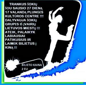 Jaunimo šokių grupių šou ŠOK @ Plungės kultūros centras | Plungė | Telšių apskritis | Lietuva