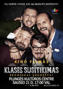 Kino filmas KLASĖS SUSITIKIMAS @ Plungės kultūros centras | Plungė | Telšių apskritis | Lietuva