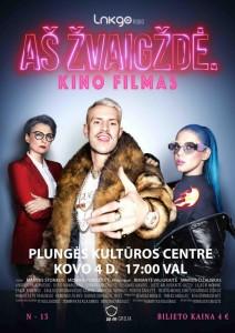 Kino filmas AŠ ŽVAIGŽDĖ N-13 @ Plungės kultūros centras | Plungė | Telšių apskritis | Lietuva