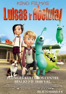 Kino filmas LUISAS IR ATEIVIAI