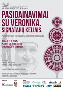Pasidainavimai su Veronika. Signatarų keliais. @ Plungės kultūros centras | Plungė | Telšių apskritis | Lietuva