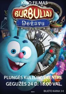 Kino filmas BURBULIAI @ Plungės kultūros centras | Plungė | Telšių apskritis | Lietuva