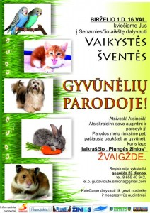 gyvūnai-plakatas