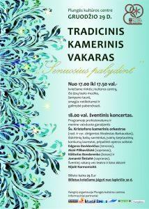 Tradicinis kamerinis vakaras SENUOSIUS PALYDINT @ Plungės kultūros centras | Plungė | Telšių apskritis | Lietuva