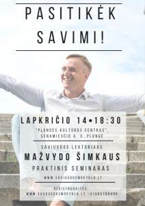 """Seminaras ,,Pasitikėk savimi"""" @ Plungės kultūros centras   Plungė   Telšių apskritis   Lietuva"""