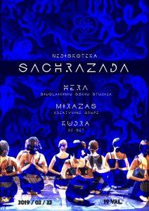 """Pramoginis renginys ,,Saharizada"""" @ Plungės kultūros centras"""