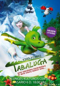 """Kino filmas vaikams ,,Tabaluga"""" @ Plungės kultūros centras"""