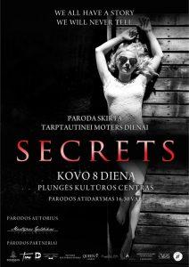 Parodos SECRETS atidarymas @ Plungės kultūros centras