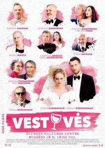 """Kino filmas ,,Vestuvės"""" N-16 @ Plungės kultūros centras"""
