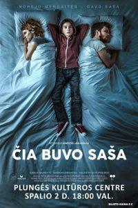 """Kino filmas ,,Čia buvo Saša"""" @ Plungės kultūros centras"""