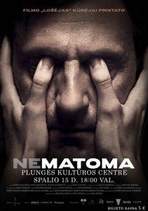 Kino filmas NEMATOMA N-13 @ Plungės kultūros centras