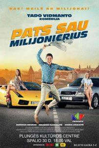 """Kino filmas ,,Pats sau milijonierius"""" @ Plungės kultūros centras"""