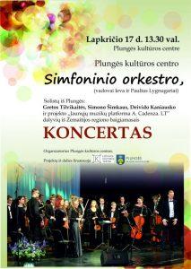 "Baigiamasis projekto ""A.Cadenza.LT"" koncertas @ Plungės kultūros centras"